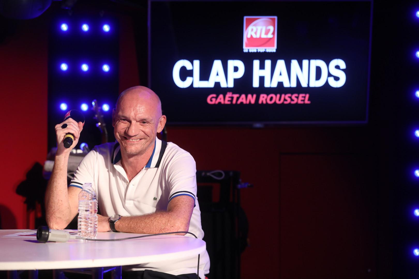 Gaëtan Roussel dans Clap Hands
