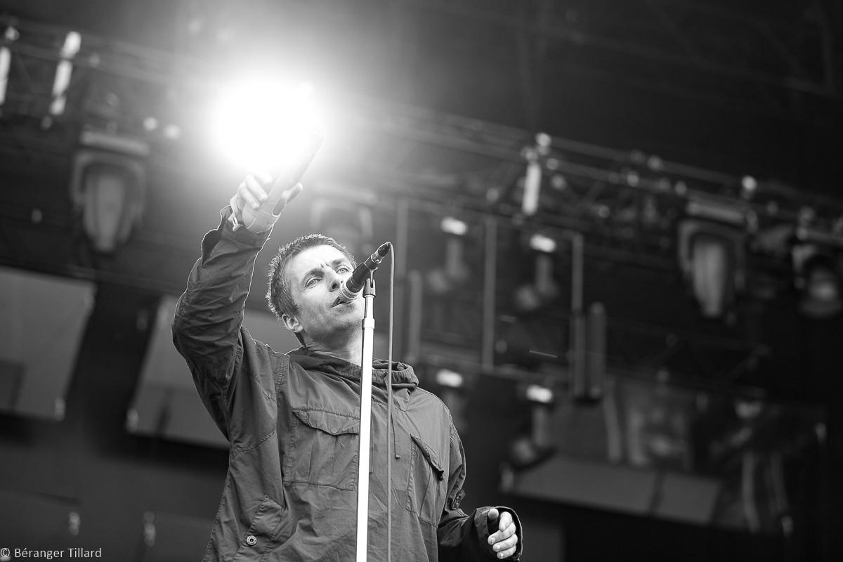 Liam Gallagher au Lollapalooza Paris