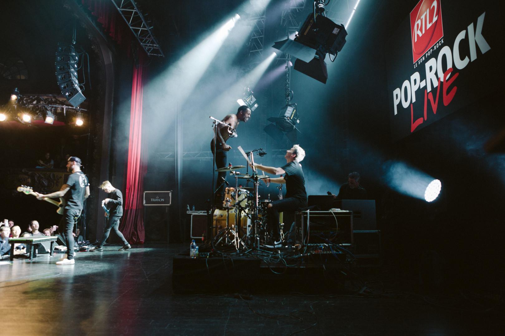 Mat Bastard a assuré le show au RTL2 Pop-rock Live