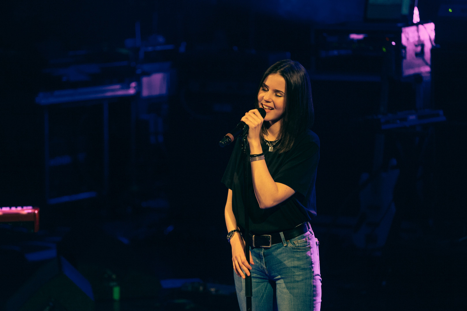 Marina Kaye a impressionné avec sa voix d'une grande intensité