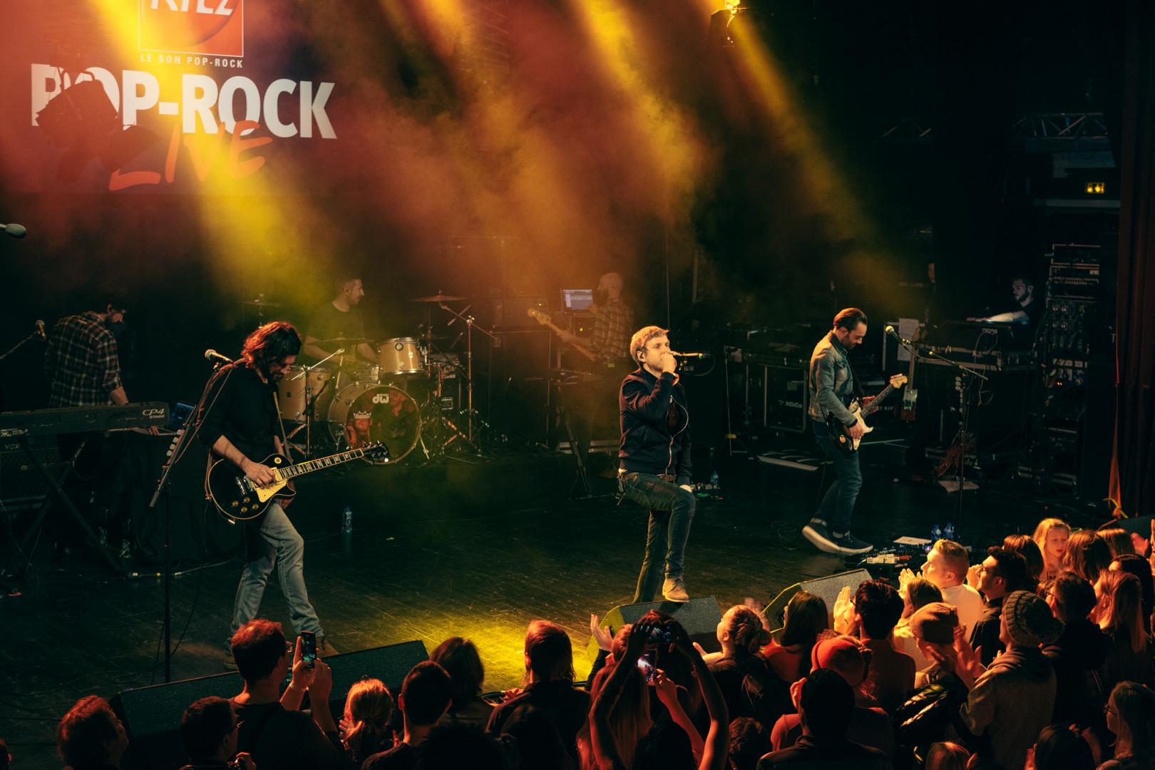 Kyo a fait son grand retour pour le RTL2 pop-rock Live