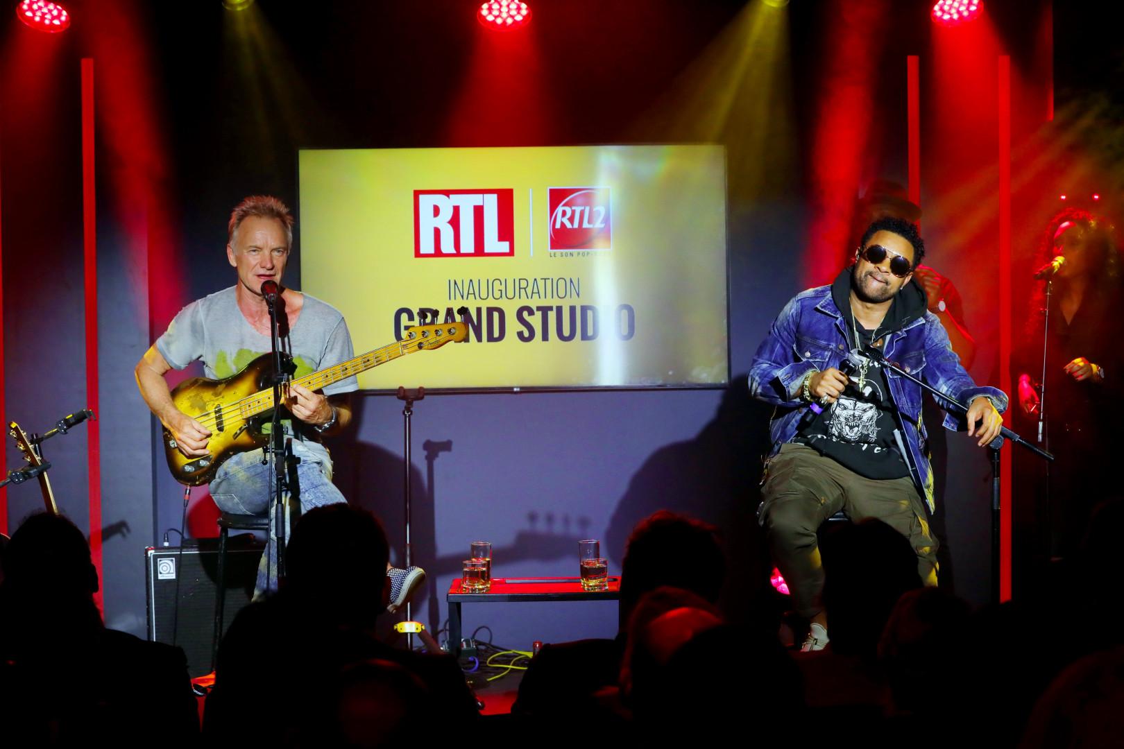 Sting & Shaggy en Concert Très Très Privé