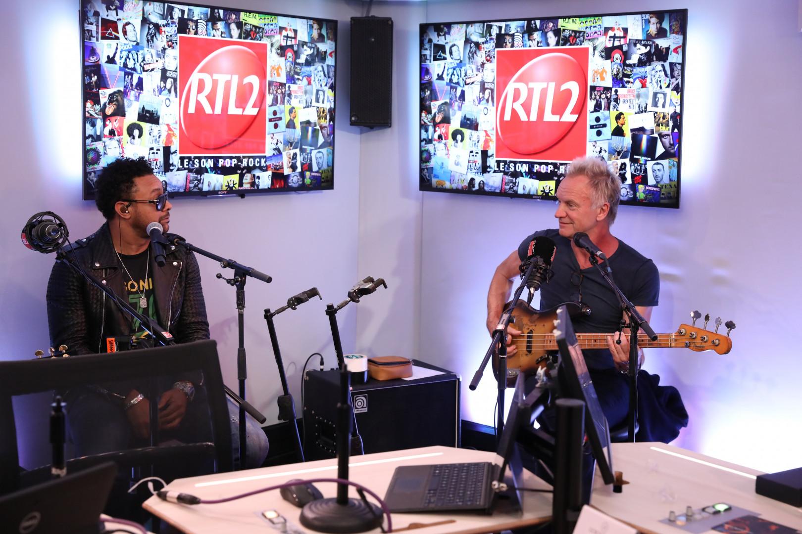 Sting & Shaggy dans #LeDriveRTL2