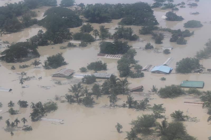En Birmanie, le cyclone Komen s'est ajouté aux pluies de moussons