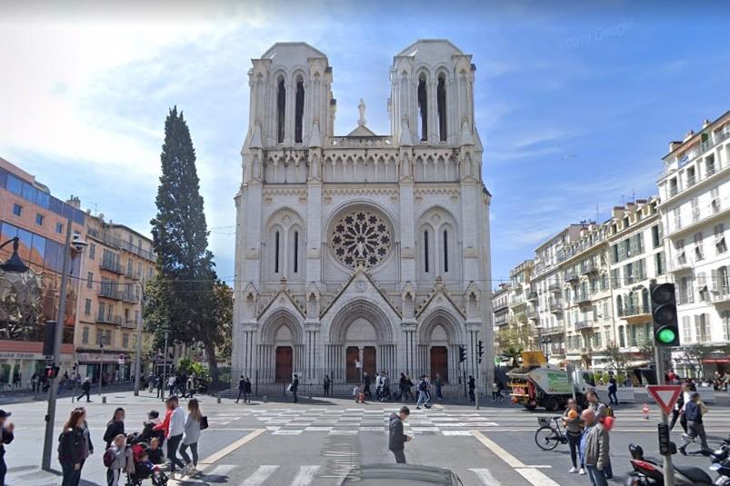 Nice : la basilique Notre-Dame de l'Assomption (illustration)