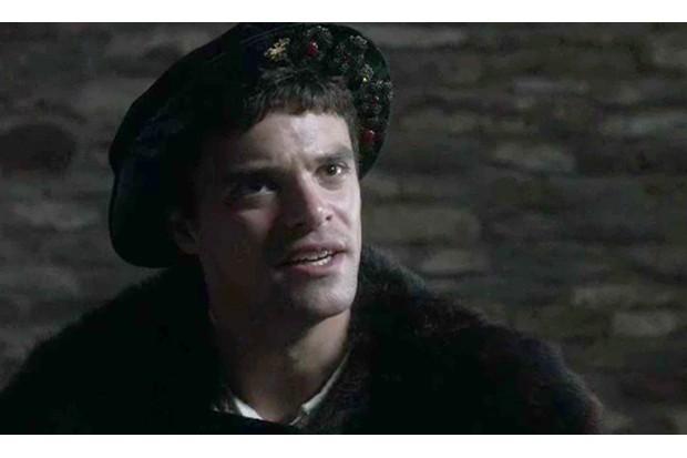 """Jacob Fortune-Lloyd dans la série """"Dans l'ombre des Tudors"""""""