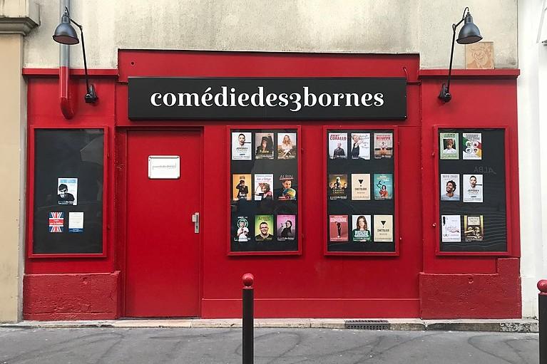 """Une (ou deux) place(s) pour """"Chattologie"""" une pièce de théâtre sur les règles qui se joue à la Comédie des 3 Bornes (à partir de 12,95 euros)."""