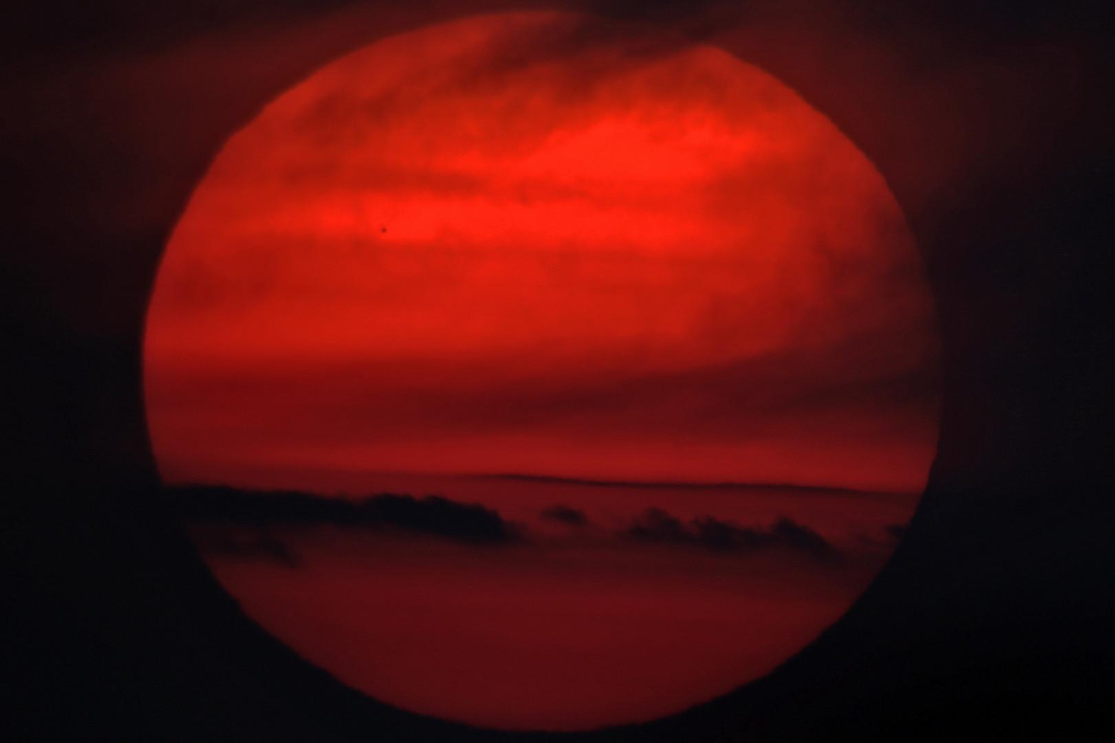 Le transit de Mercure vu du Koweït