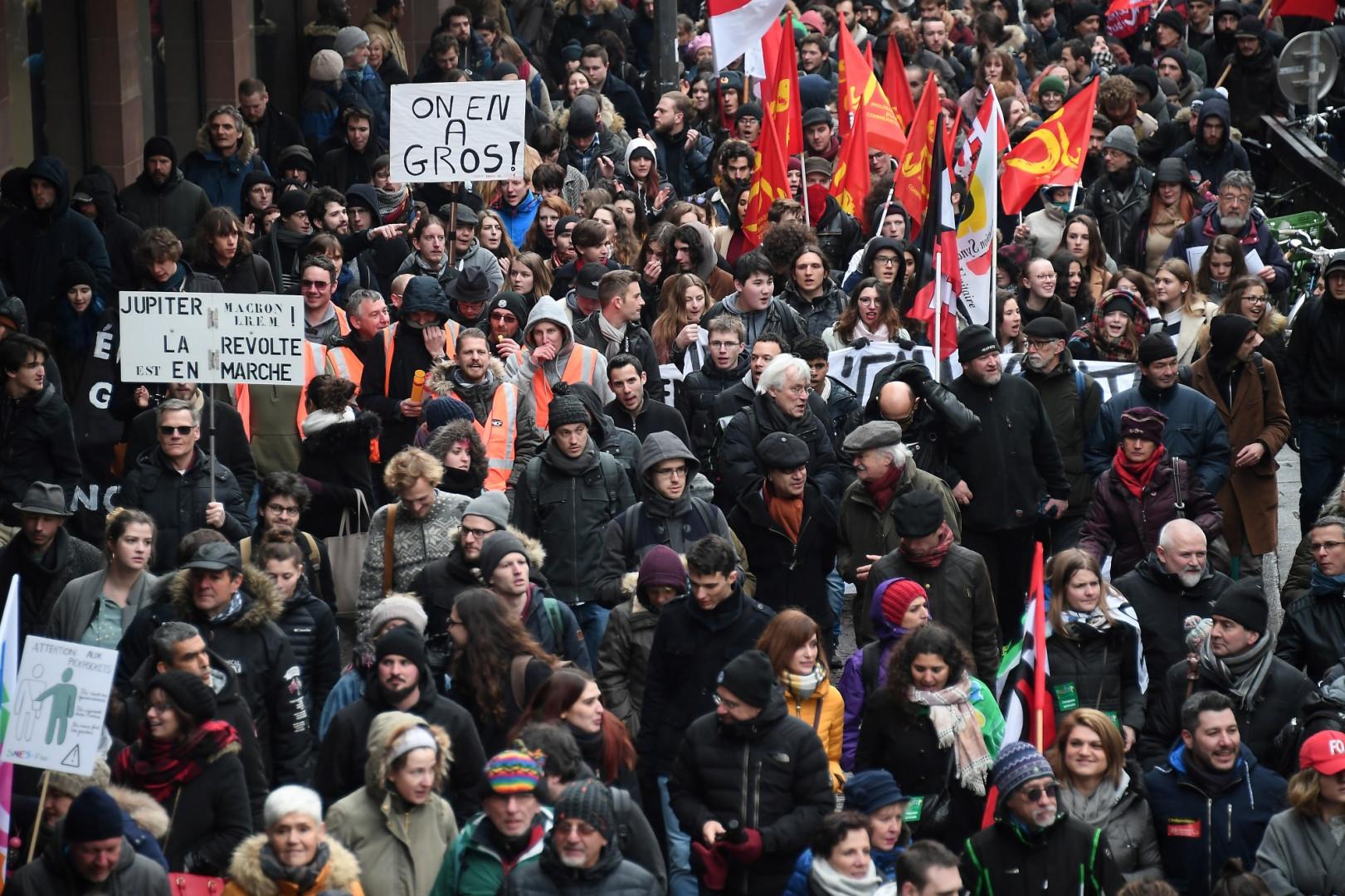 Manifestation à Strasbourg jeudi 22 mars