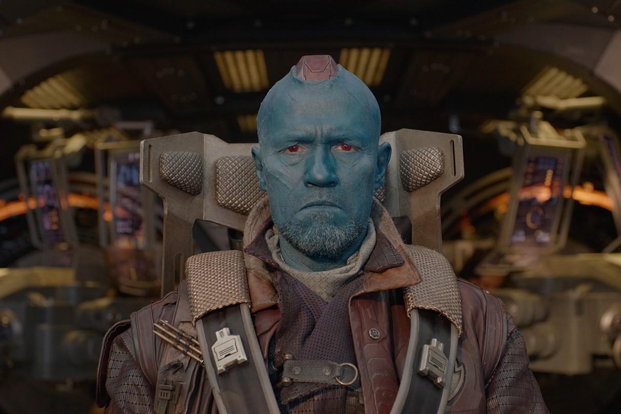 """Yondu (Michael Rooker) dans """"Les Gardiens de la Galaxie"""""""