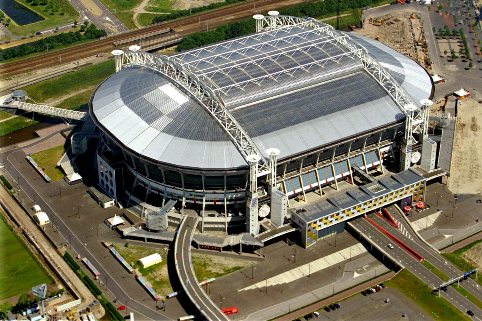 La Johan Cruyff Arena vue de dessus en juin 1999