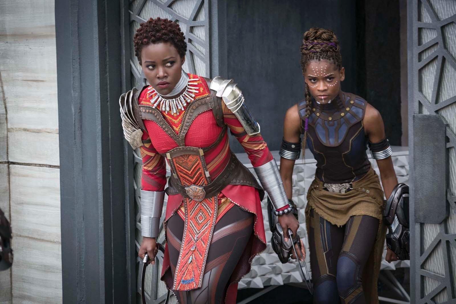 """Dans """"Black Panther"""", l'actrice mexico-kényane a prouvé qu'elle savait y faire avec les grosses franchises"""