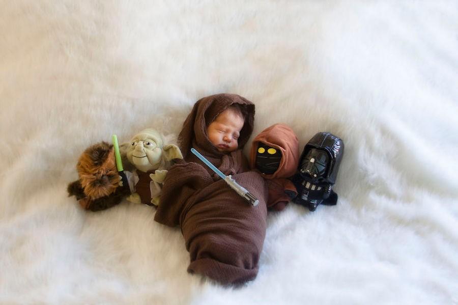 """Ezra a la Force de """"Star Wars""""."""