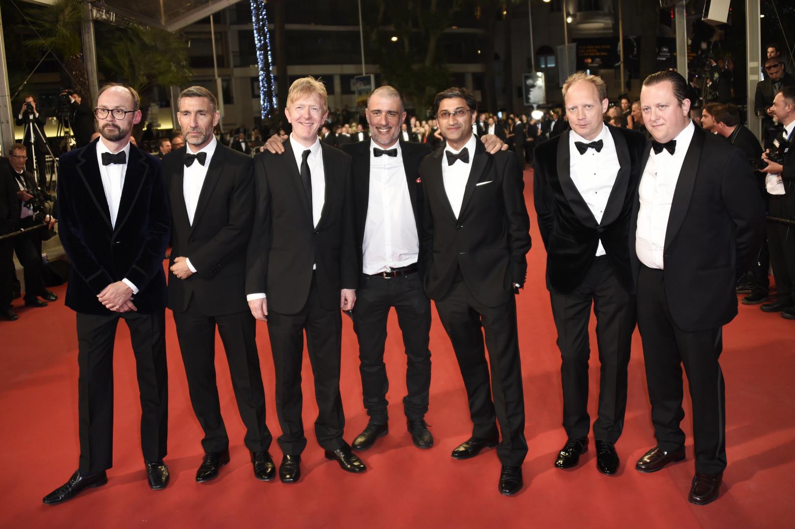 """L'équipe du documentaire """"Amy"""" très attendu à Cannes"""
