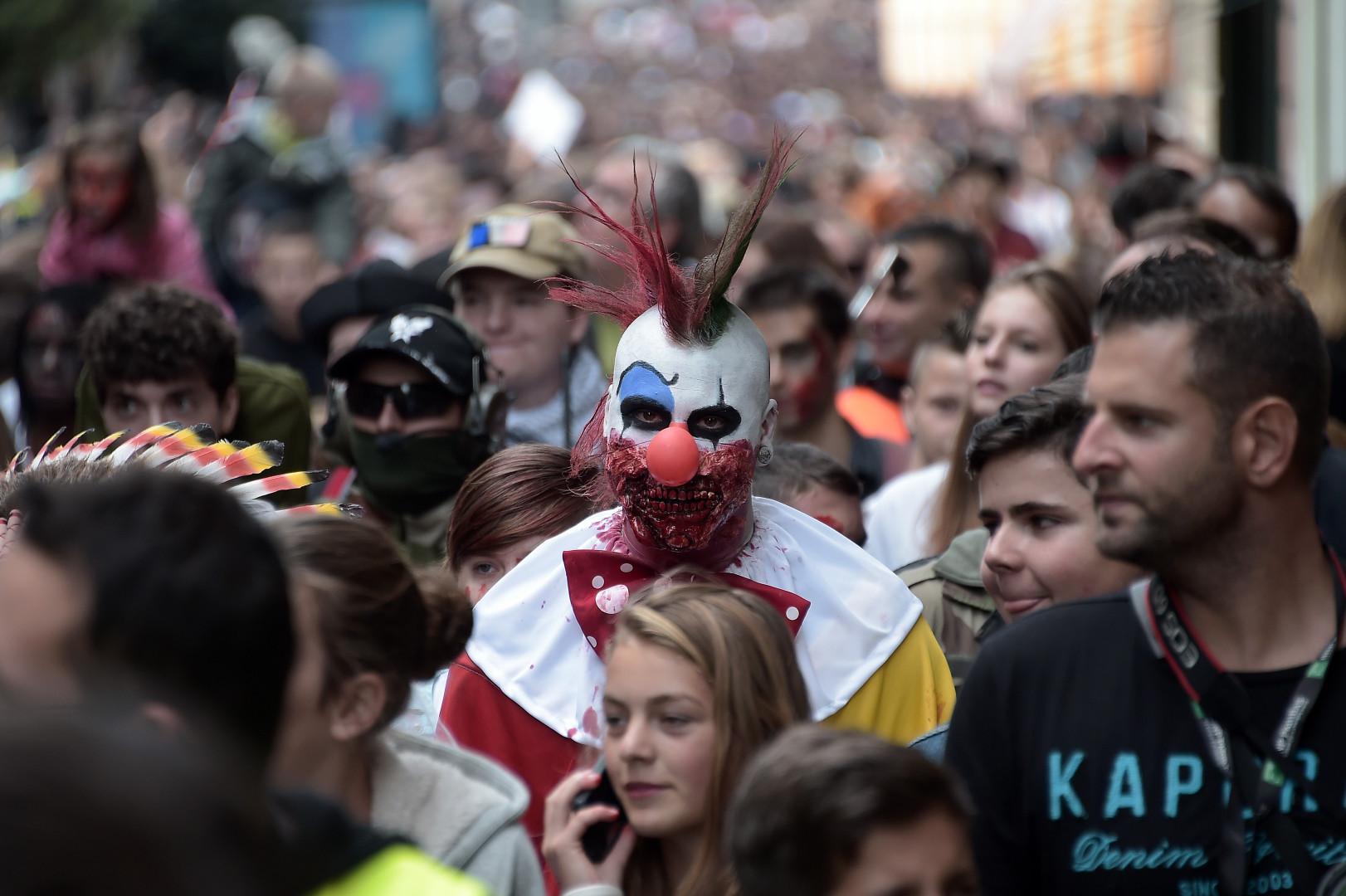 Ce défilé a marqué le lancement du Festival européen du film fantastique.