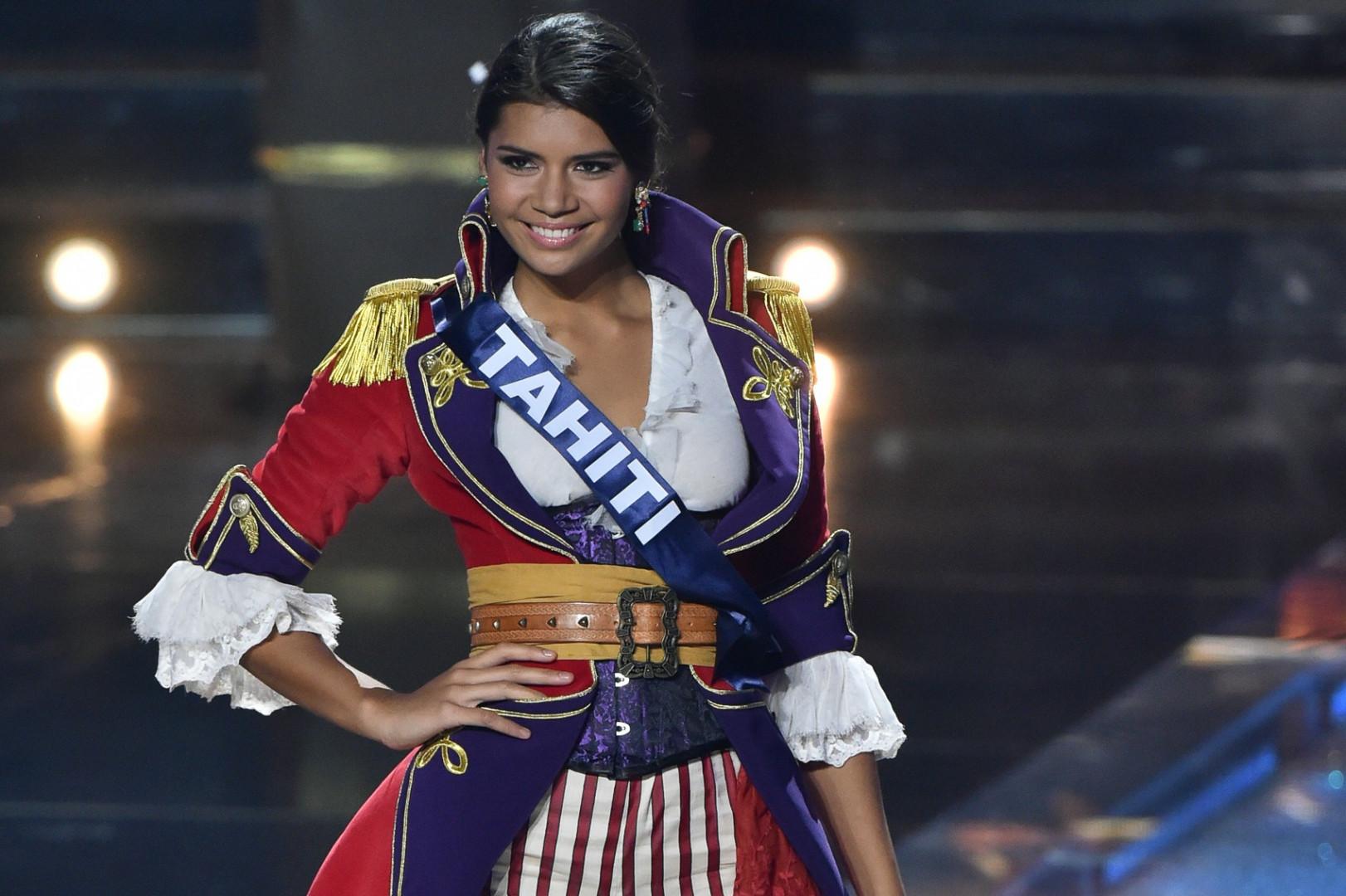 Miss Tahiti, deuxième dauphine au concours de Miss France 2016