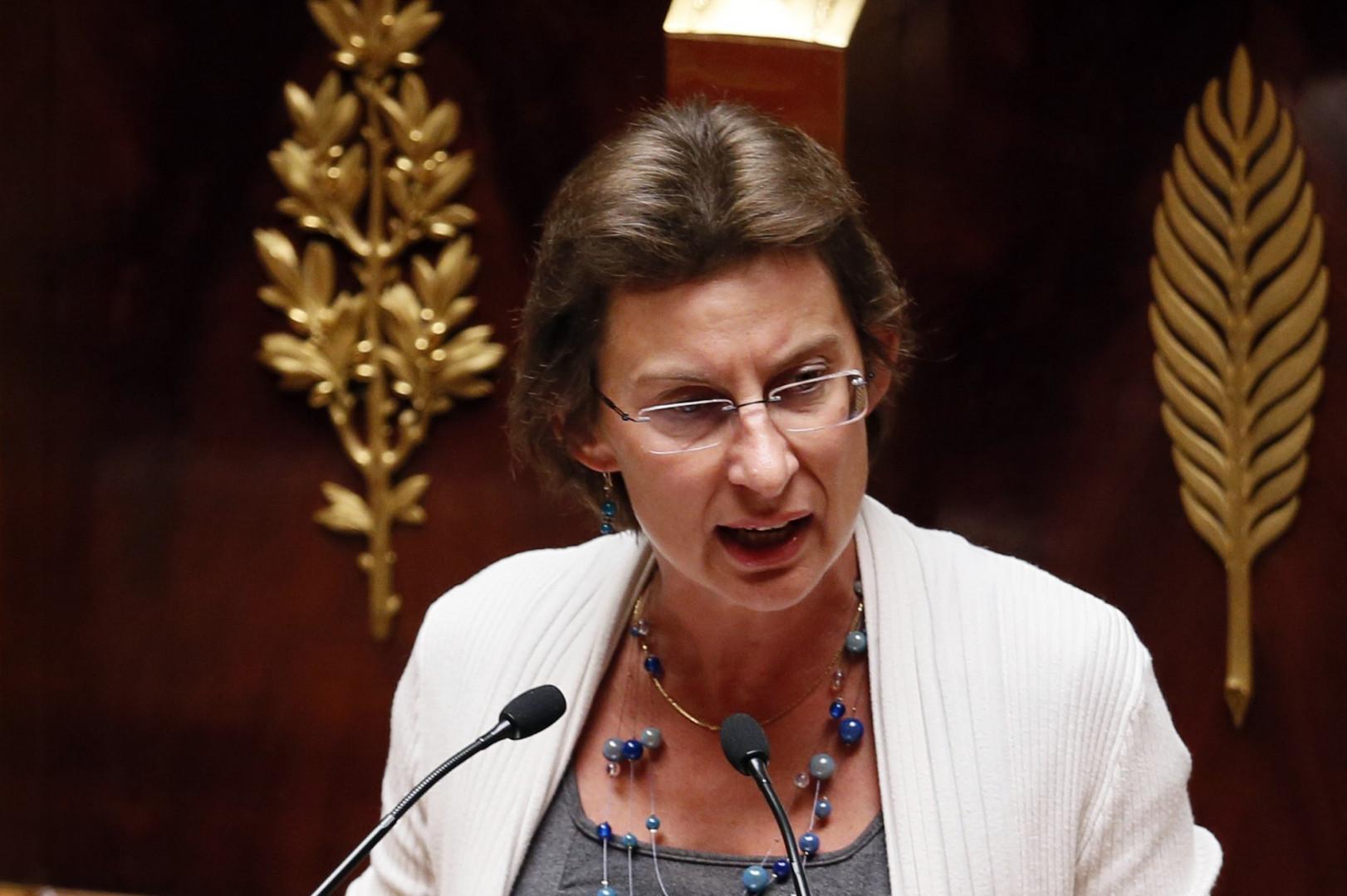 Clotilde Valter, secrétaire d'État chargée de la Formation professionnelle et de l'Apprentissage.