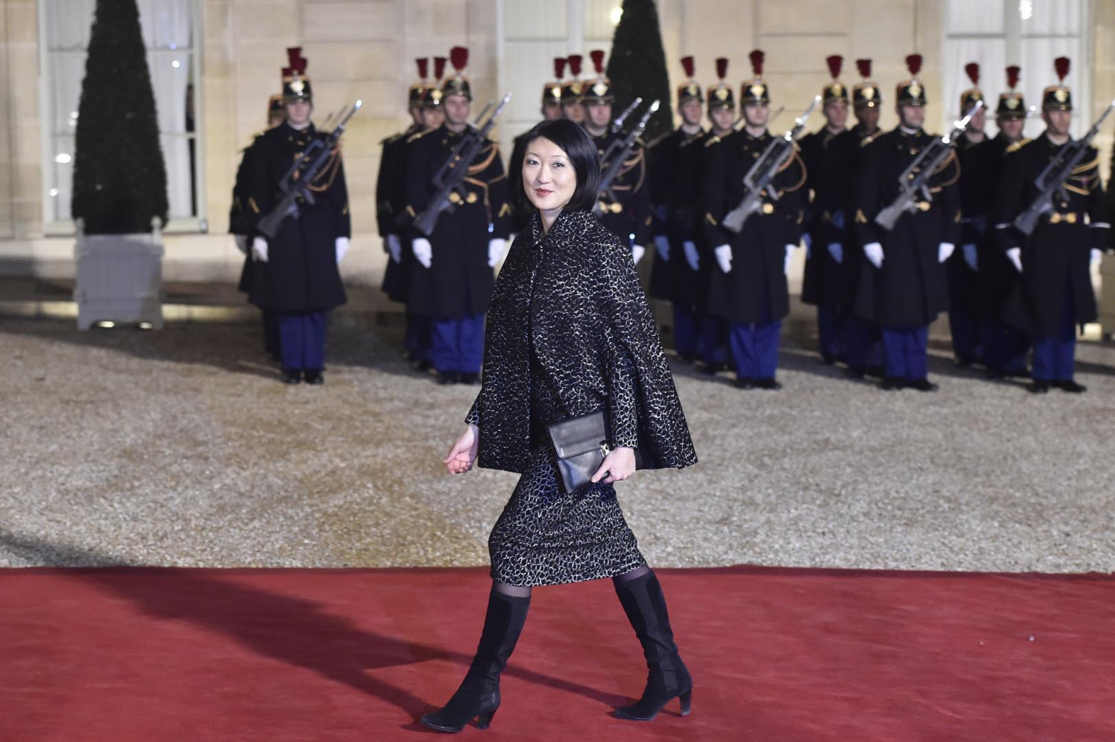Fleur Pellerin, ministre de la Culture, à l'Élysée le 1er février 2016