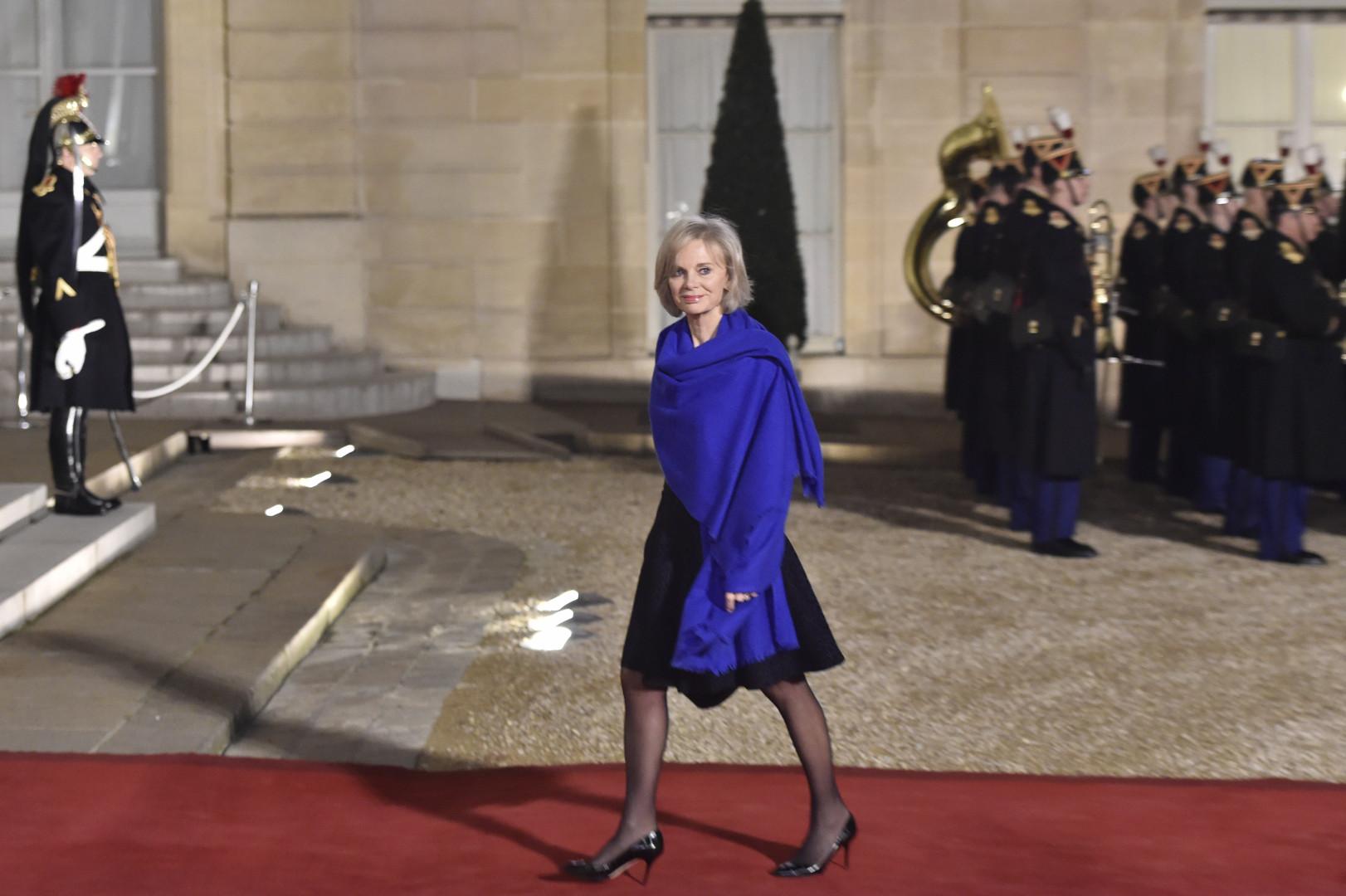 Elisabeth Guigou, député de Seine-Saint-Denis et ancienne ministre, à l'Élysée le 1er février 2016
