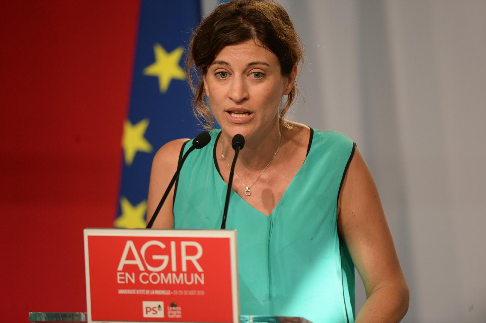 Juliette Méadel, secrétaire d'État chargée de l'Aide aux victimes
