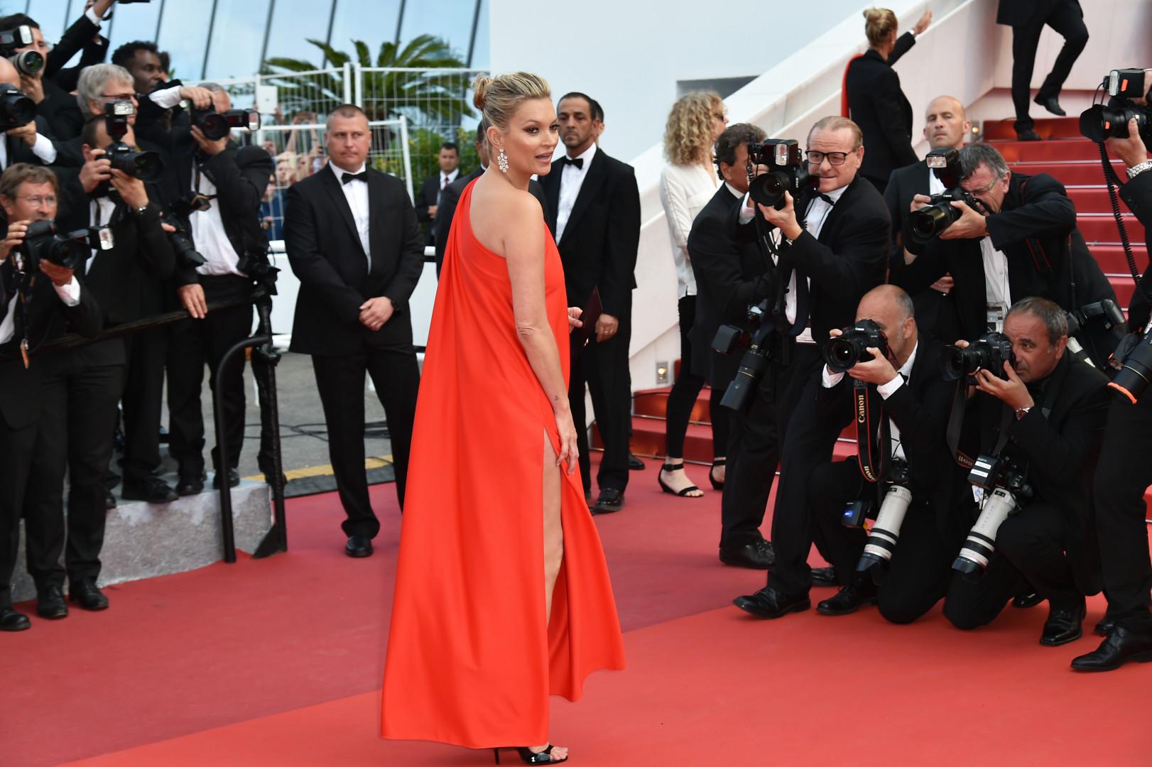 Kate Moss au Festival de Cannes 2016.