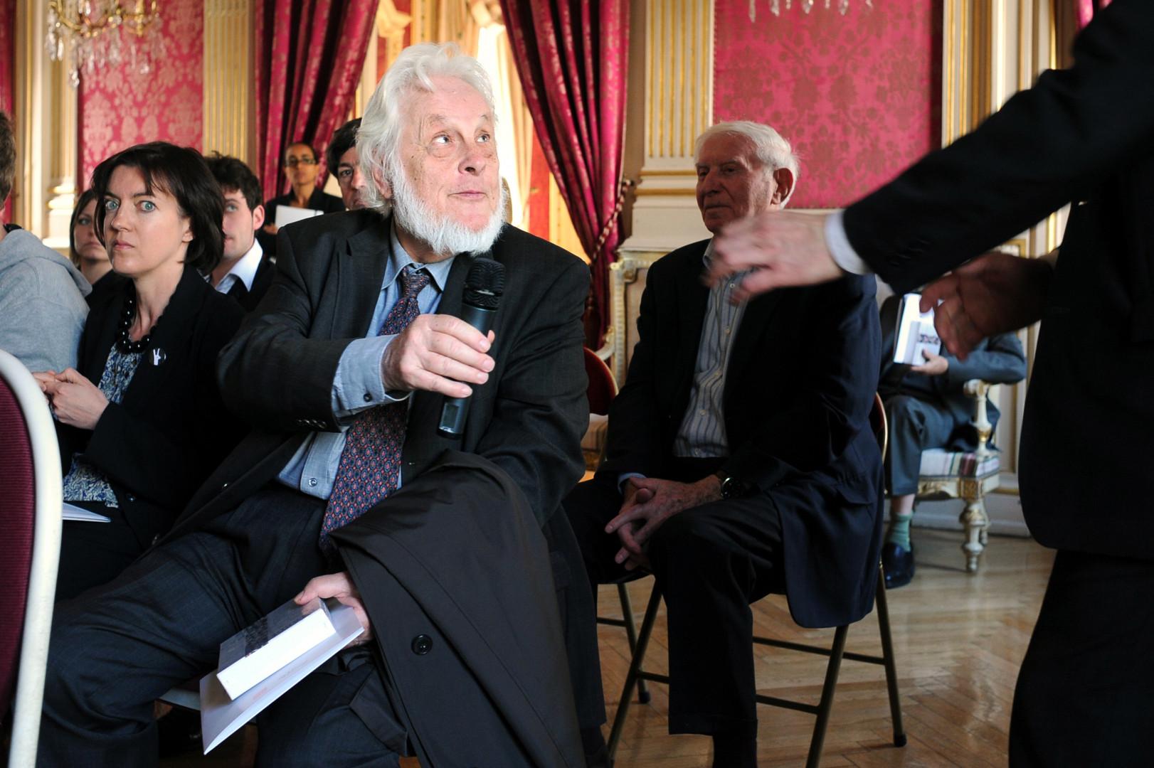 Pierre Truche, le premier président honoraire de la Cour de cassation