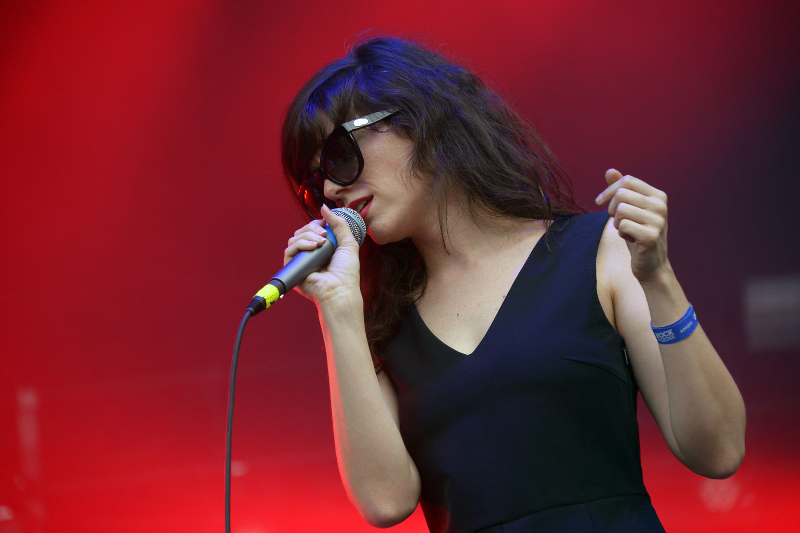 Natalie Prass sur la Scène Pression Live à Rock en Seine.