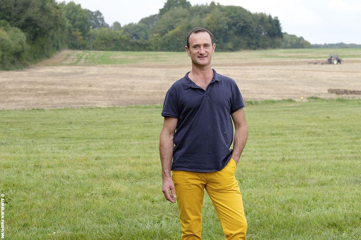Pierre-Emmanuel, 43 ans, éleveur de vaches et céréalier