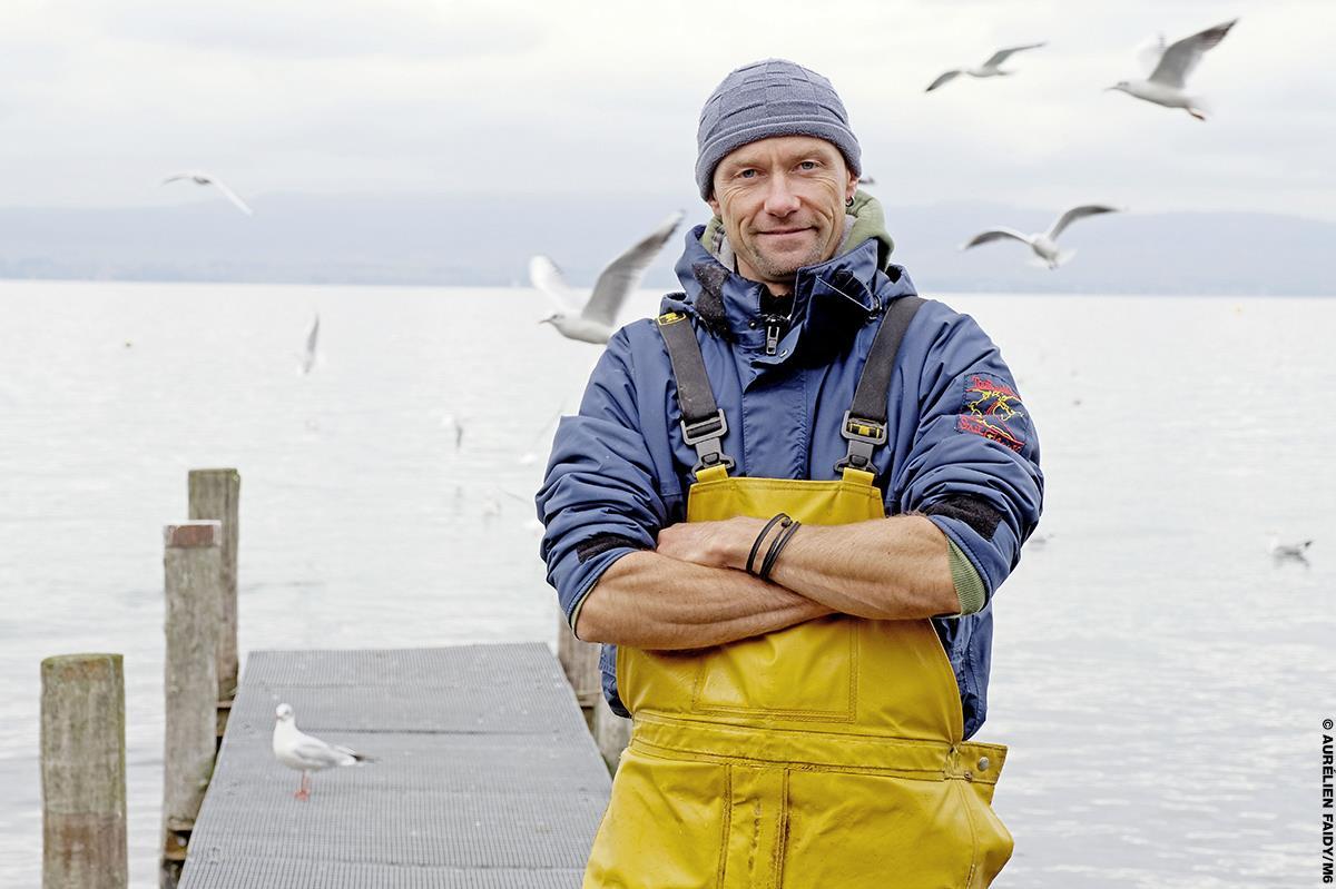 Raphaël, 44 ans, pêcheur en Auvergne