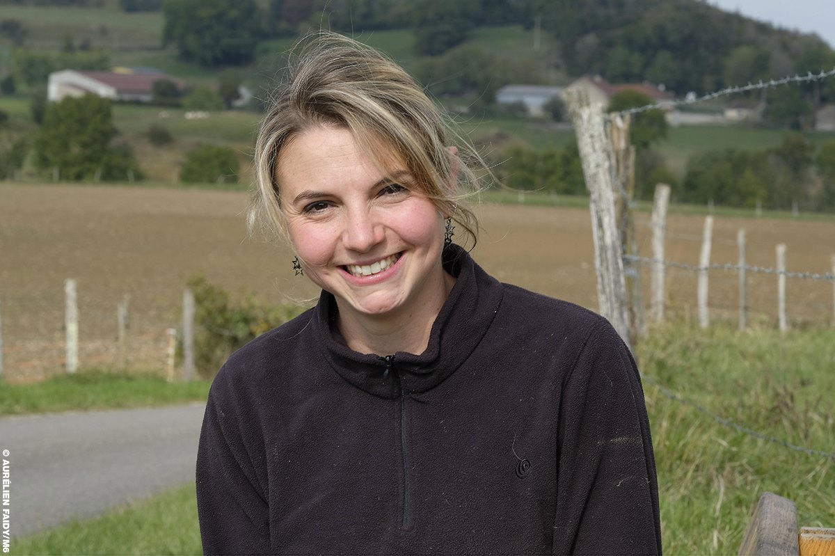 Nathalie, 27 ans, éleveuse de vaches et de chèvres en Bourgogne - Franche Comté