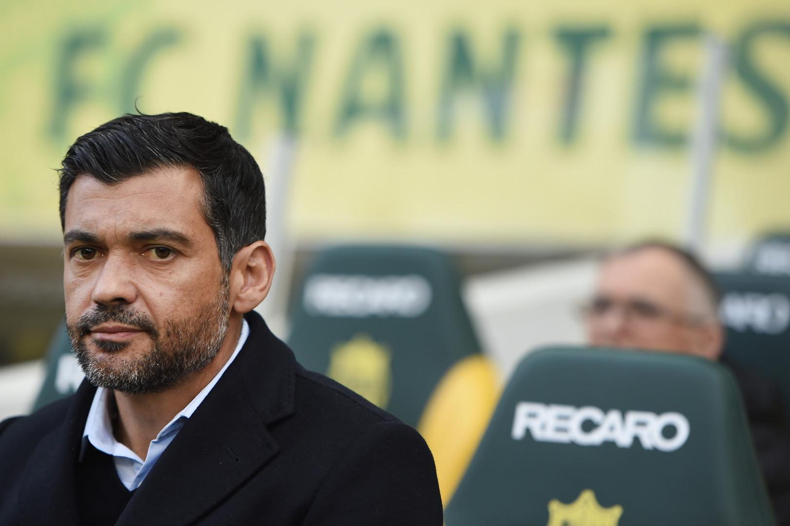 Sérgio Conceição, entraîneur du FC Nantes