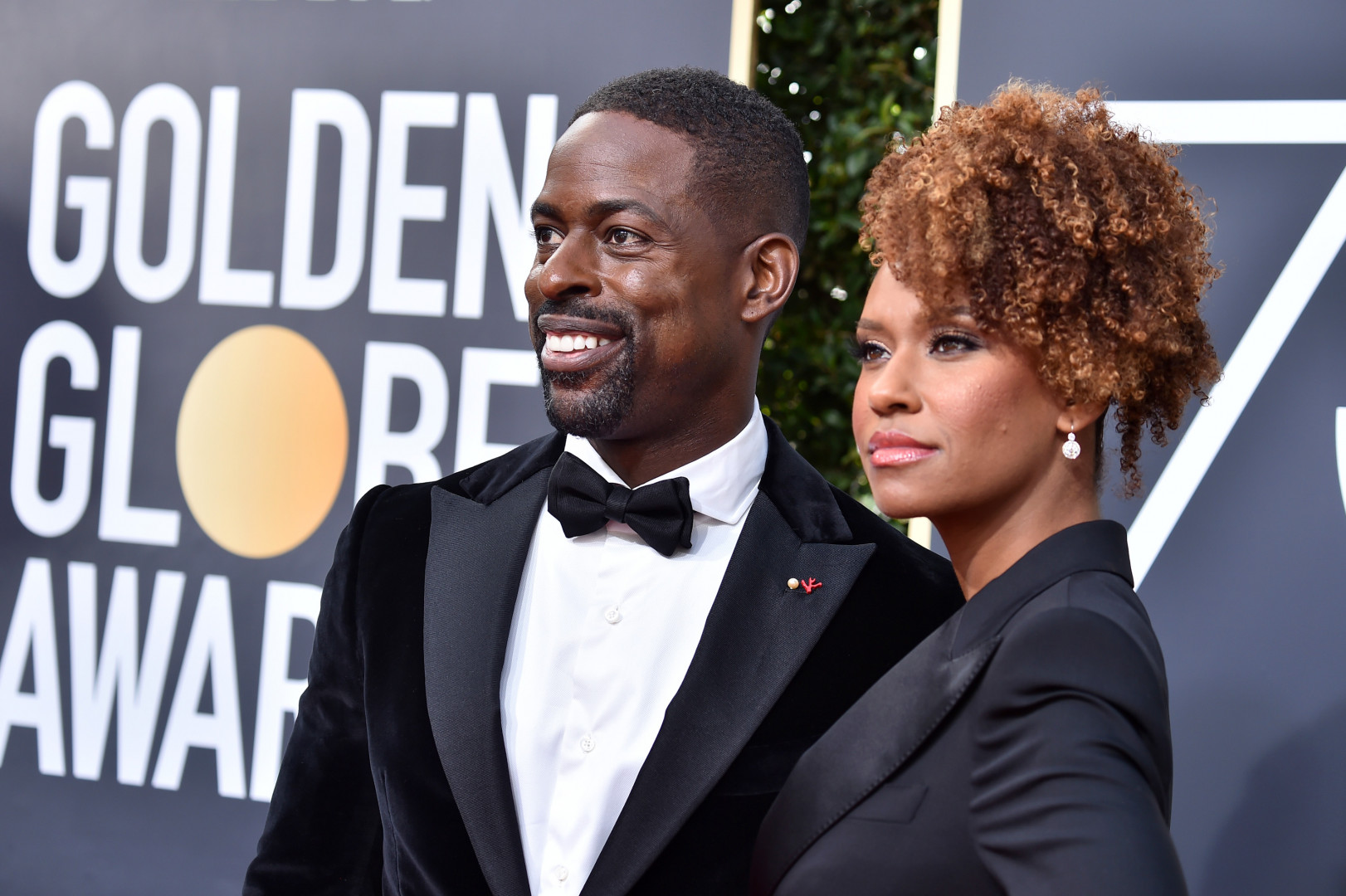 """Sterling K. Brown (""""This Is Us"""") et Ryan Michelle Bathe"""
