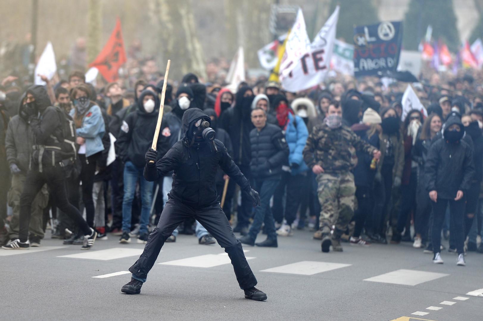Manifestation à Nantes jeudi 22 mars