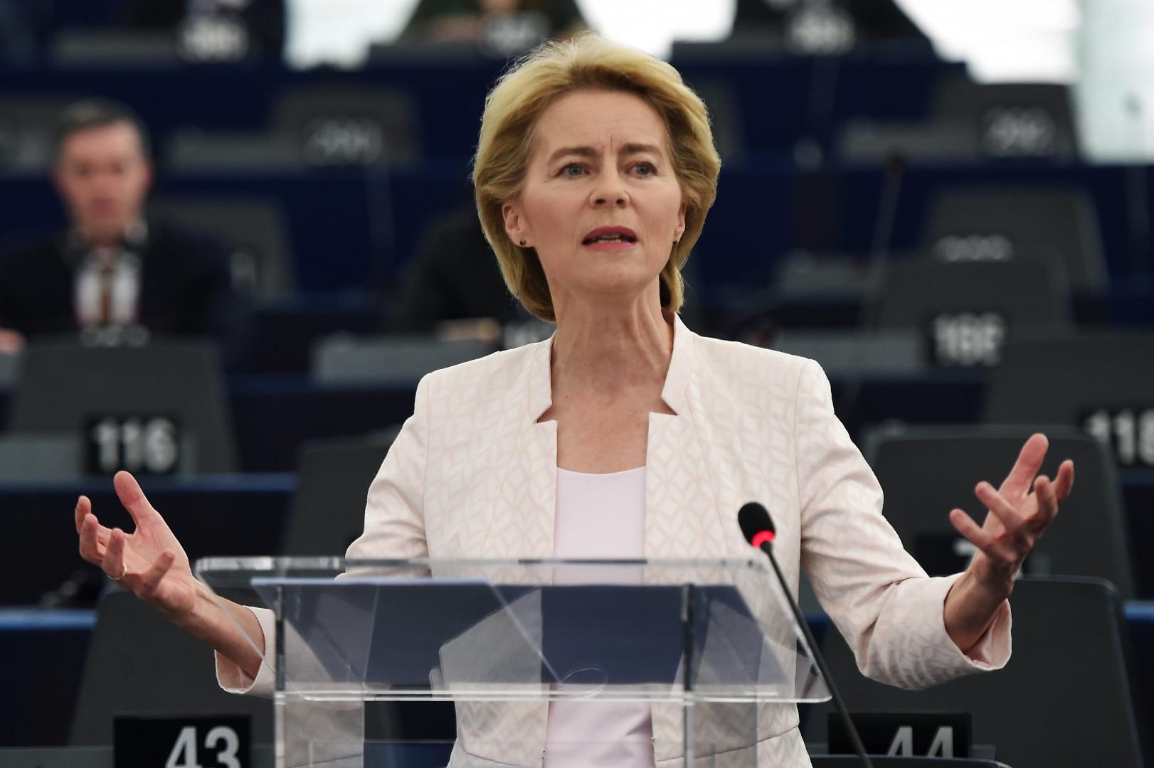 Ursula von der Leyen, la présidente de la Commission européenne