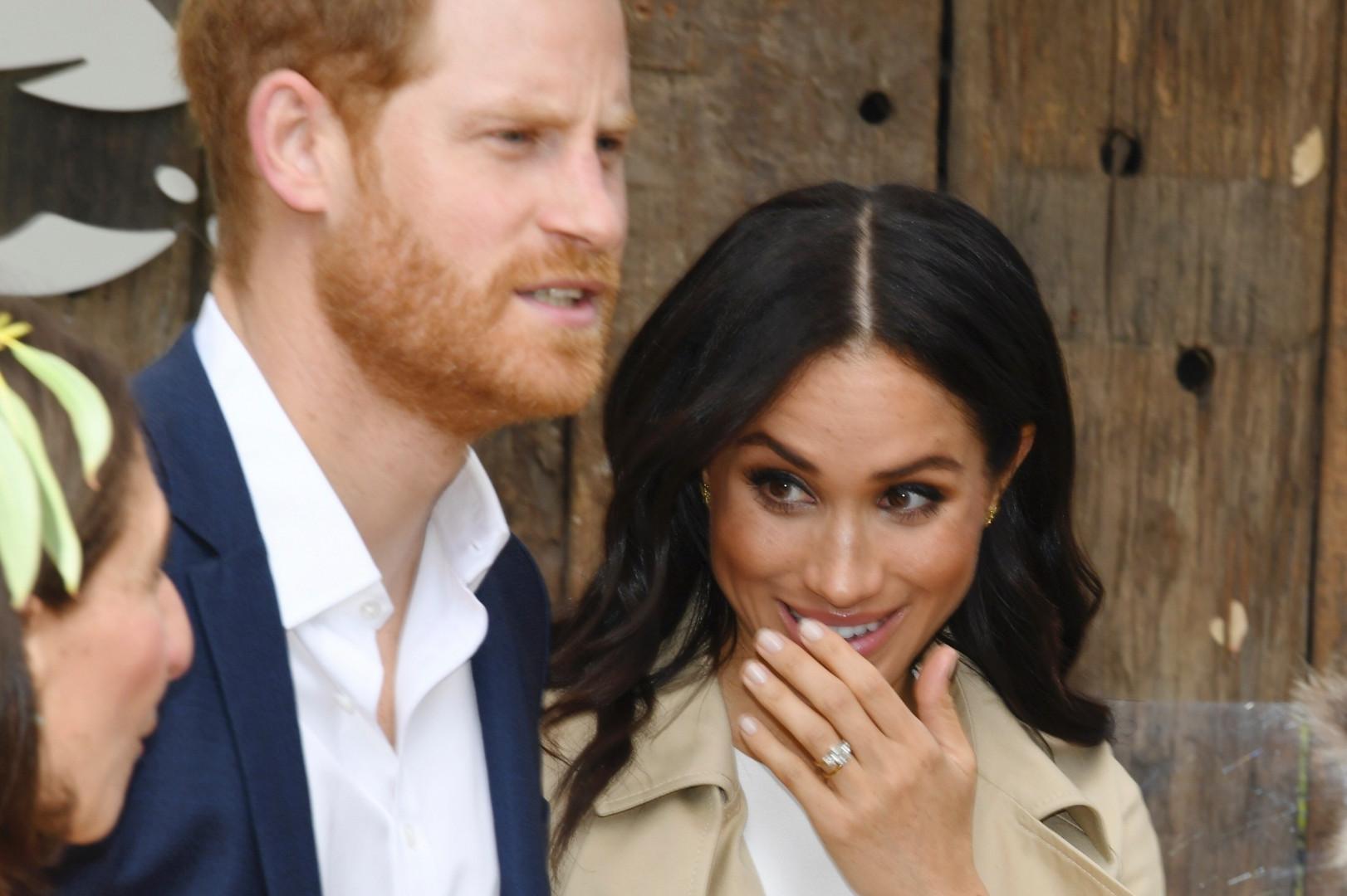 Harry et son épouse Meghan en Australie