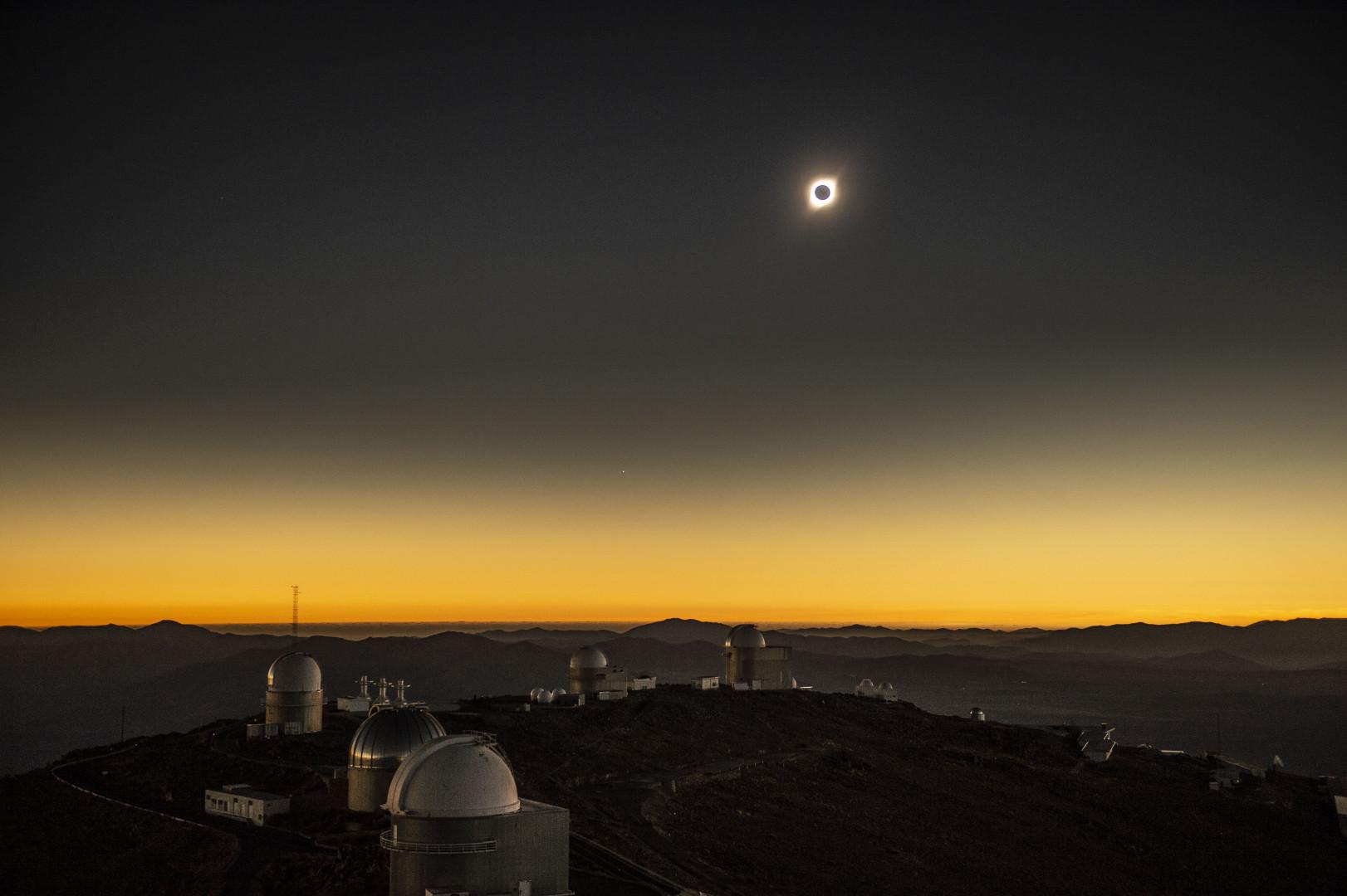 Éclipse totale du Soleil le 2 juillet 2019 au Chili