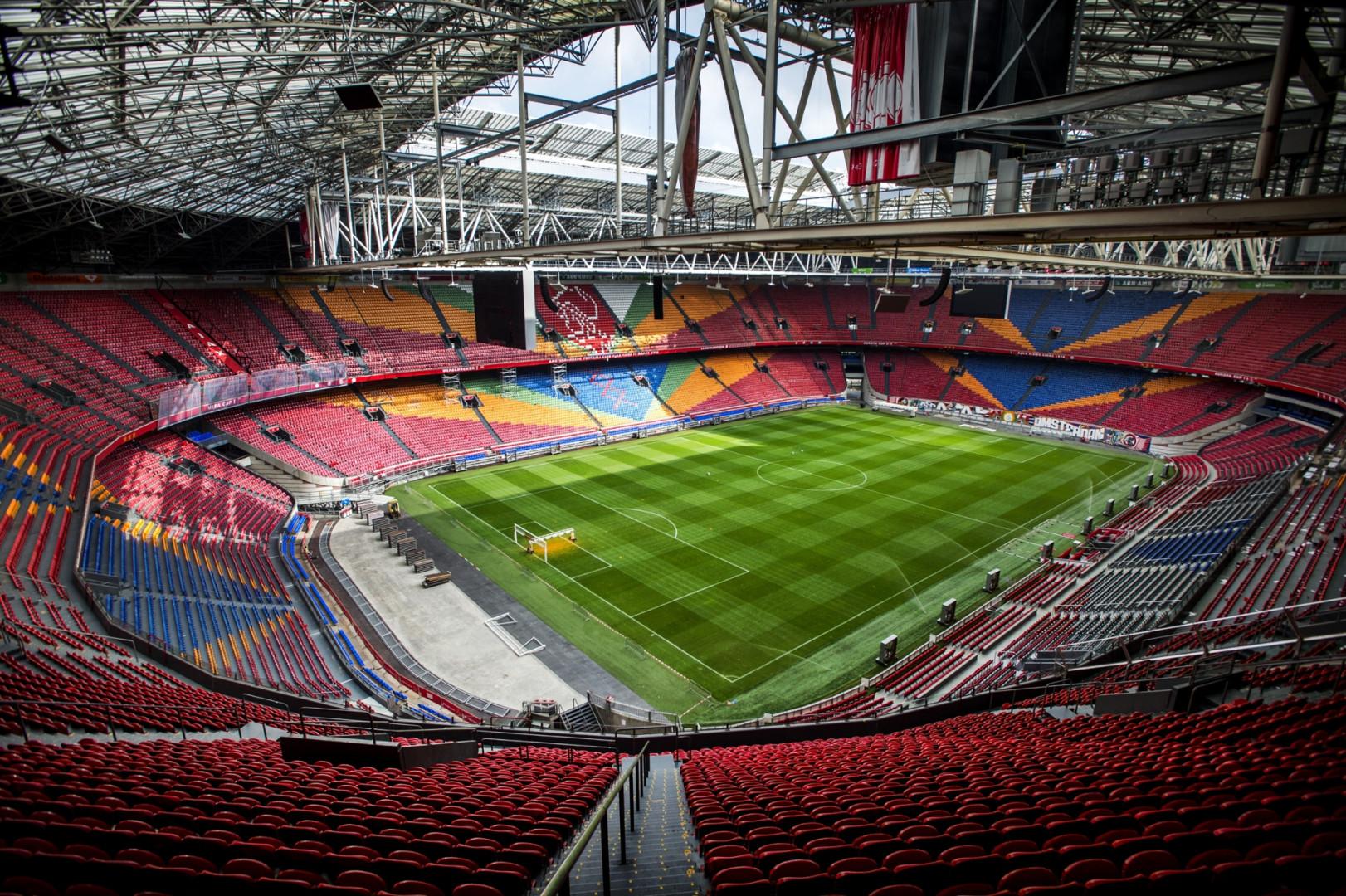 La Johan Cruyff Arena vue de l'intérieur en septembre 2014