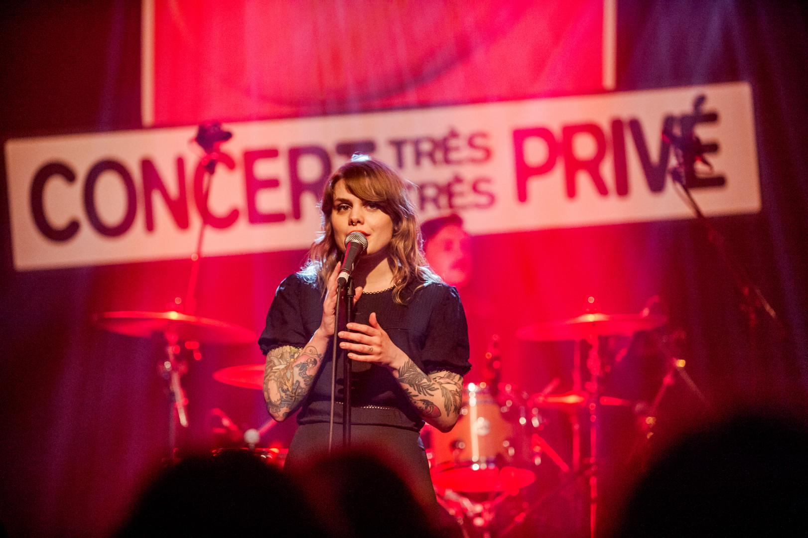 Cœur de Pirate en Concert Très Très Privé RTL2