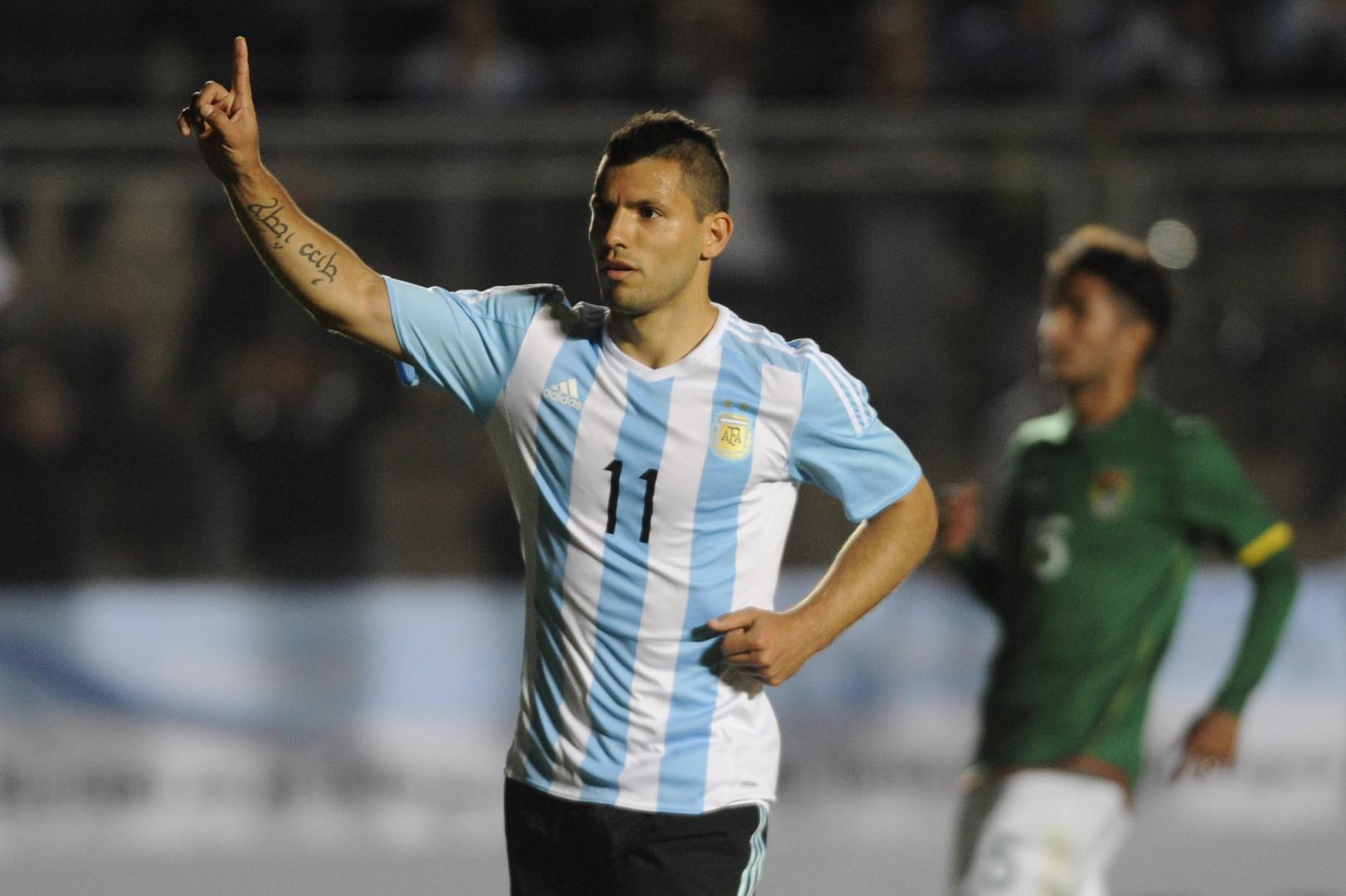 Le Kun Agüero sera au cœur d'une flamboyante attaque argentine