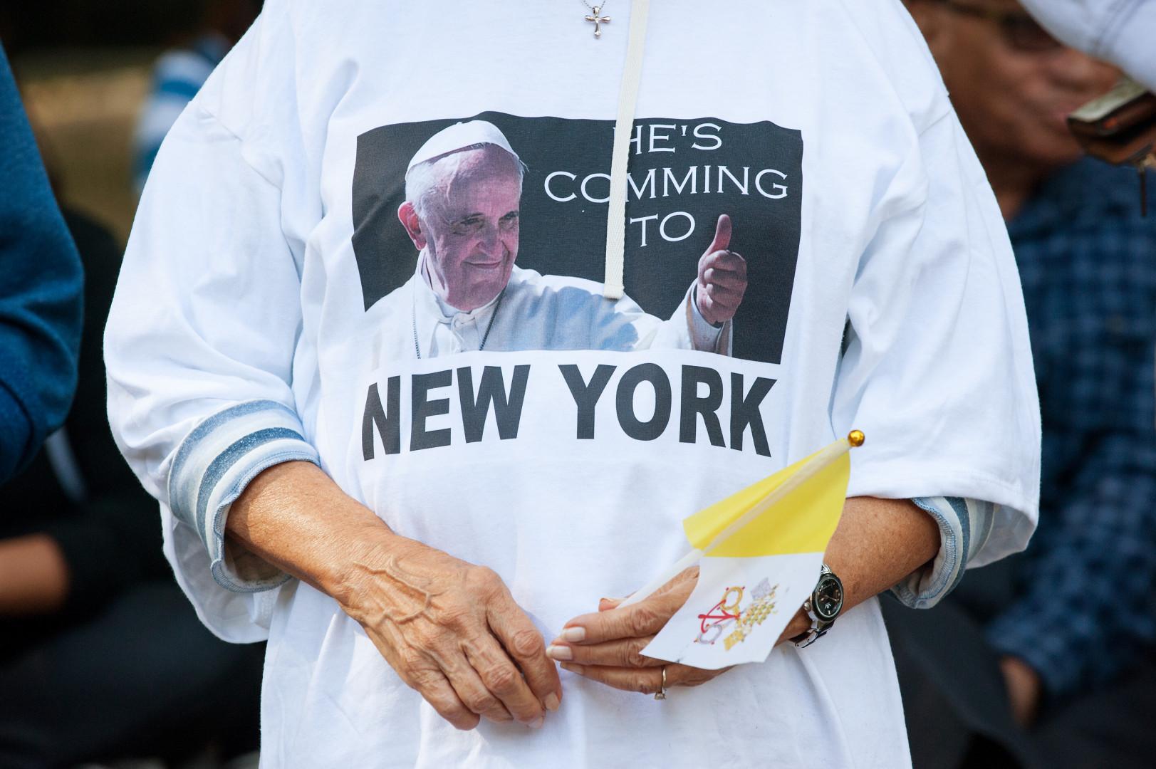 Le pape François attendu à New York