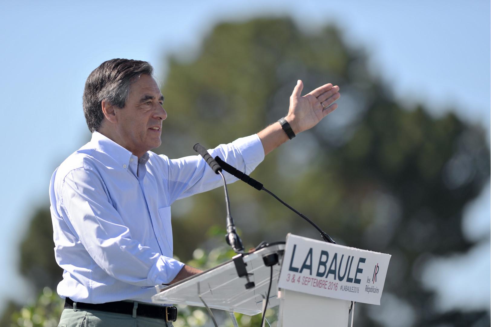 François Fillon à La Baule, le 3 septembre 2016