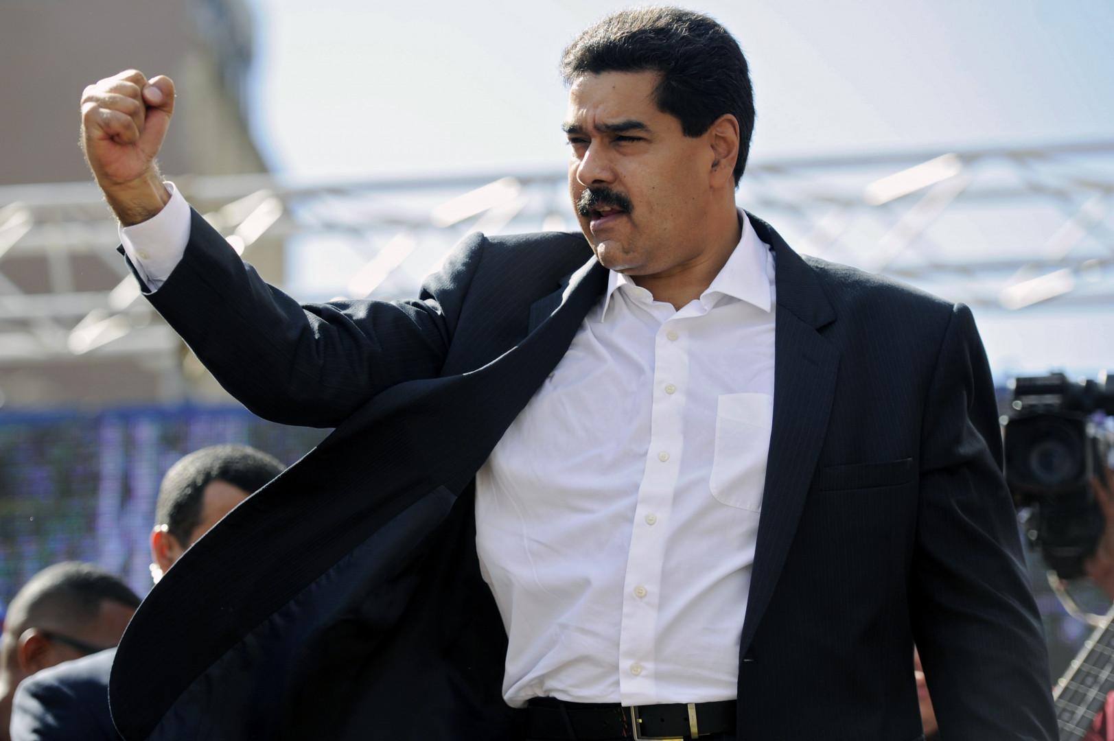 Nicolas Maduro, le président du Vénézuela