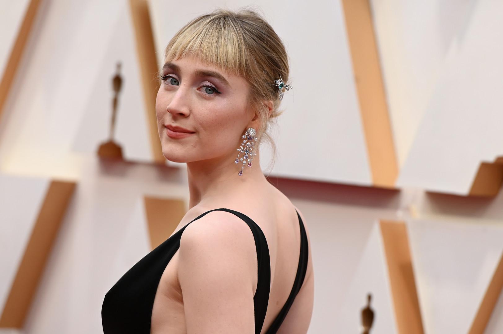 """10 - L'Américaine Saoirse Ronan (""""Lady Bird"""", """"Les Filles du docteur March"""")"""