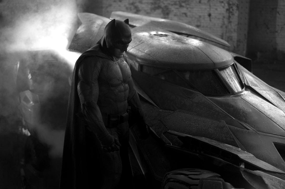 """Batfleck possède aussi une version plus """"légère"""" de son costume"""