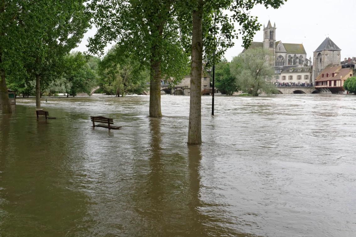Crue à Episy (Seine-et-Marne)