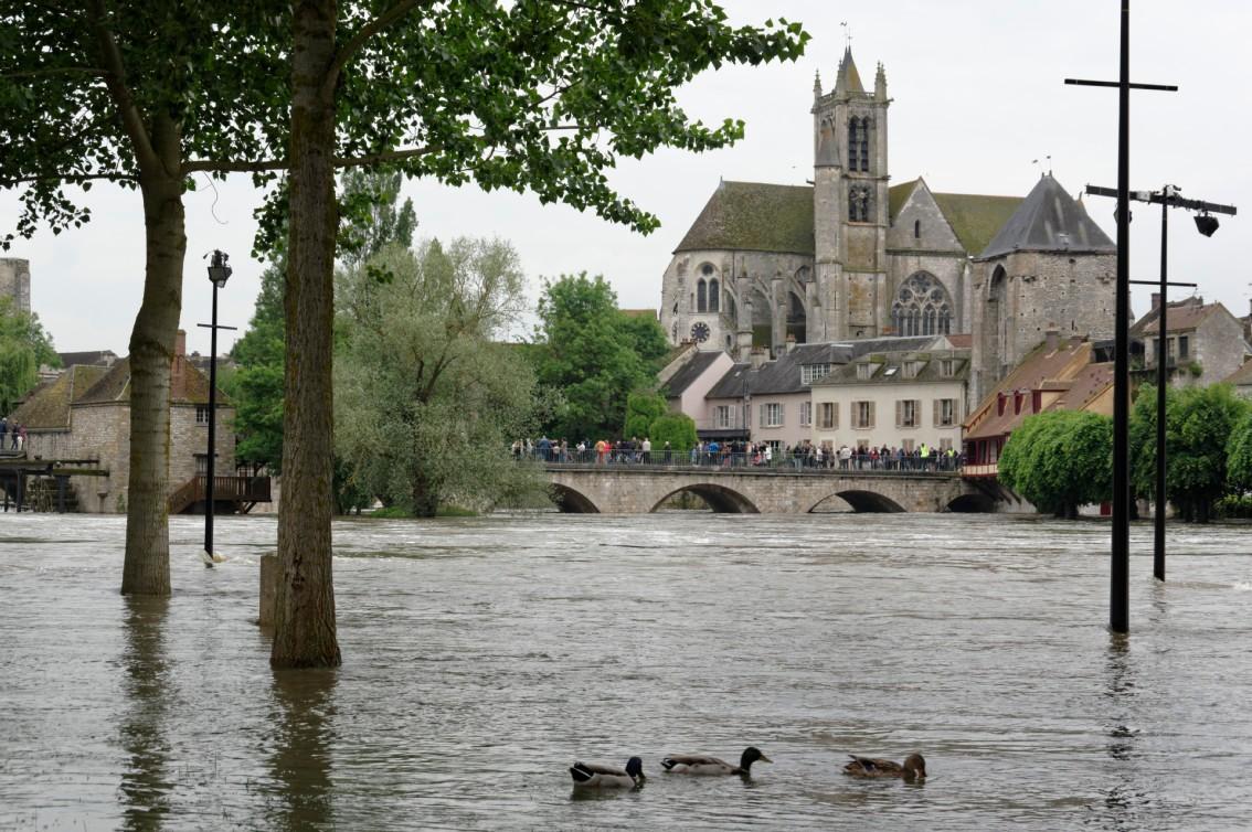Crue à Episy (Seine-et-Marine)