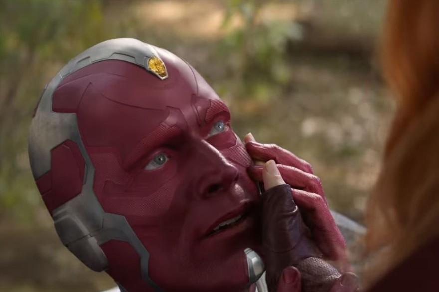 """Vision dans le spot TV d'""""Avengers : Infinity War"""""""
