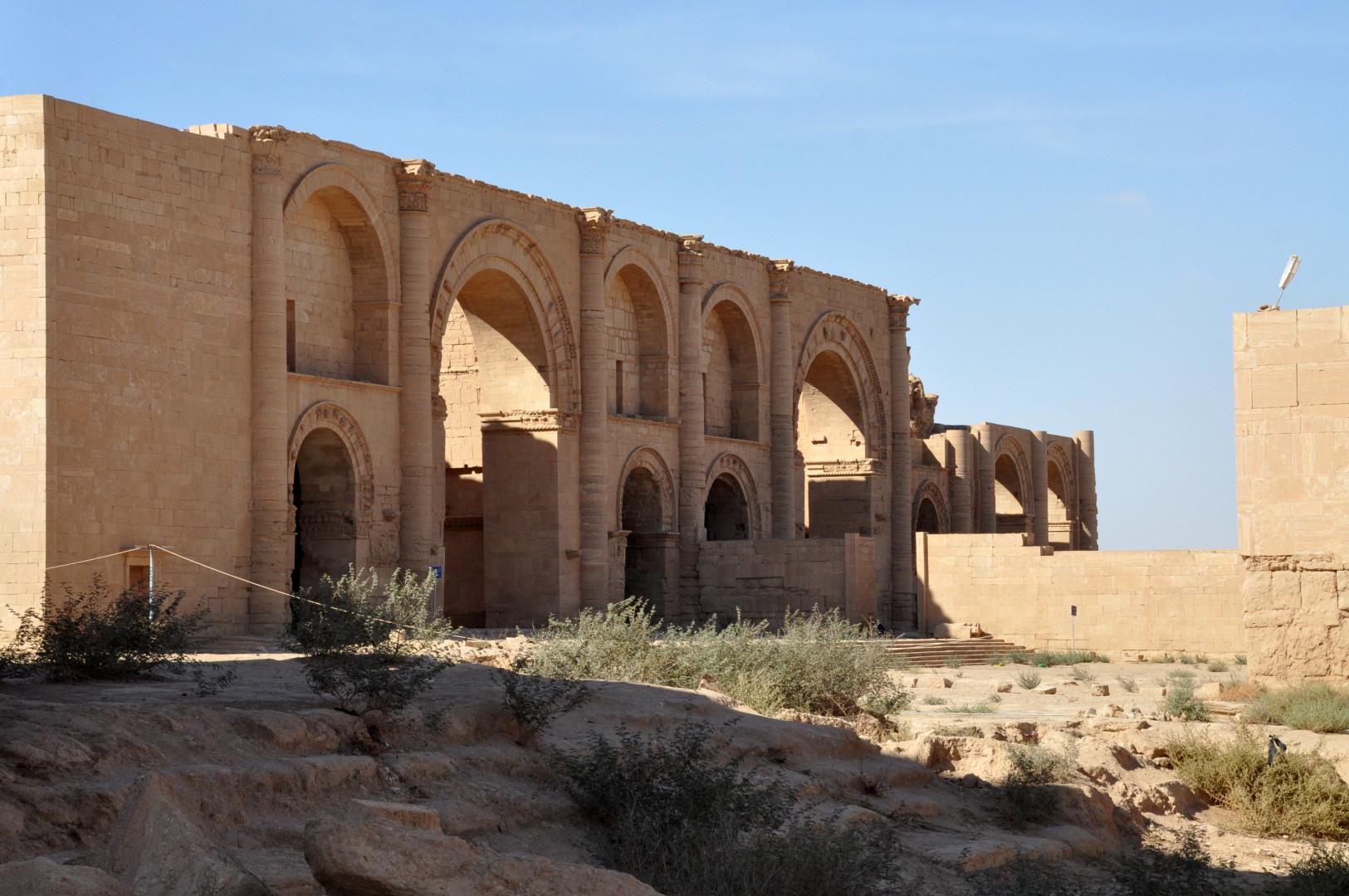 La cité antique d'Hatra en Irak est tombée aux mains destructrices de l'État islamique en avril 2015 (Image d'archives).