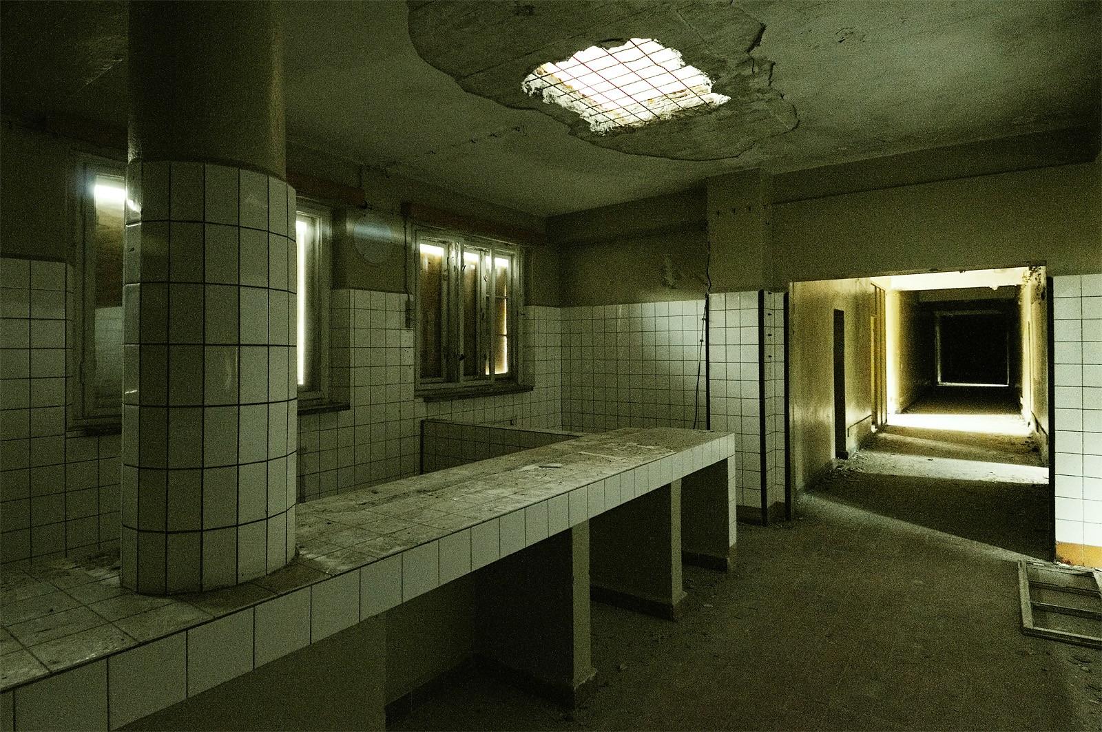 Une cuisine du bâtiment nazi