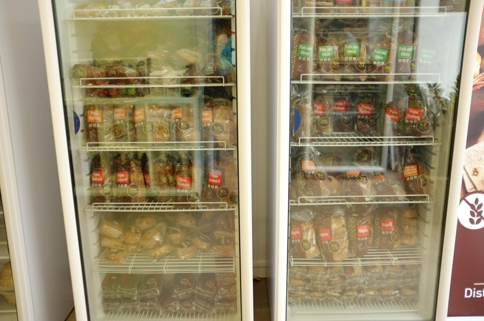 Les congélateurs 100% sans gluten des pains surgelés de La Maison du Sans Gluten